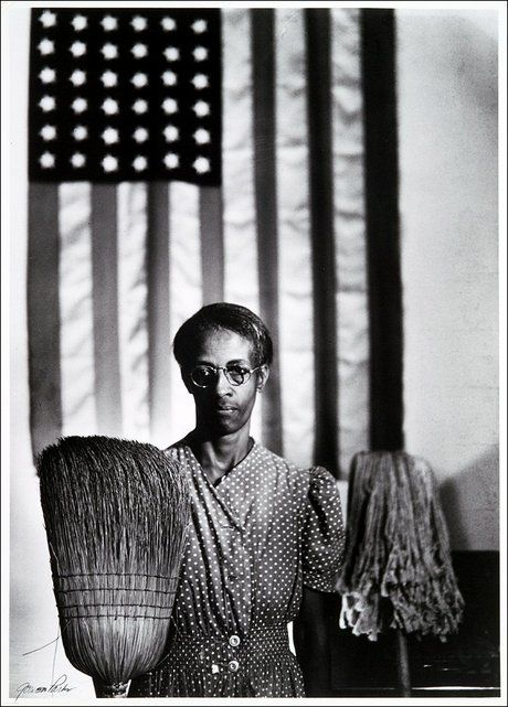 Gordon Parks 1942 American Gothic Its The First Professional Image I