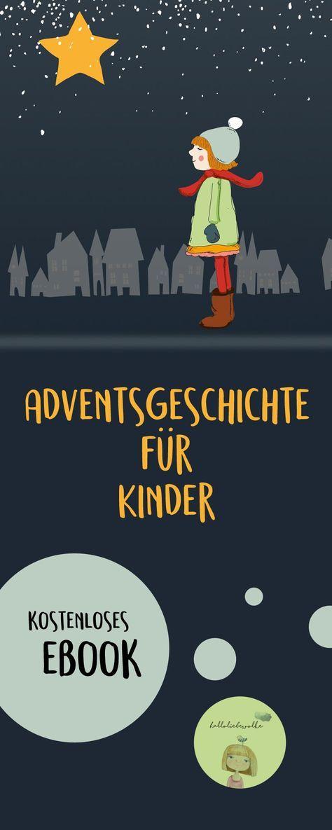 Lina und der Wackelstern {Adventsgeschichte für Kinder - eBook} • Hallo liebe Wolke