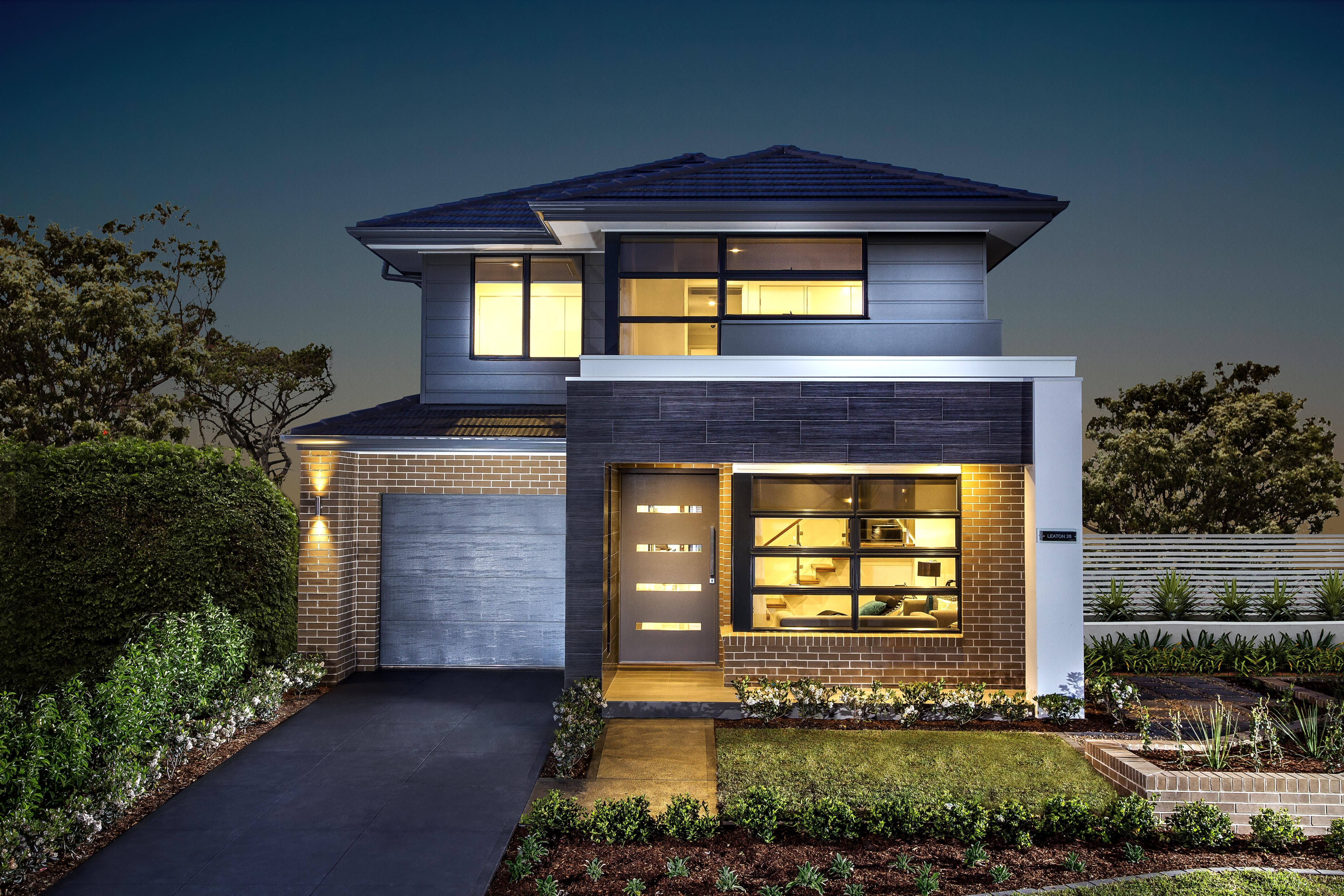 Leaton 28 Double storey home designed for more narrow blocks