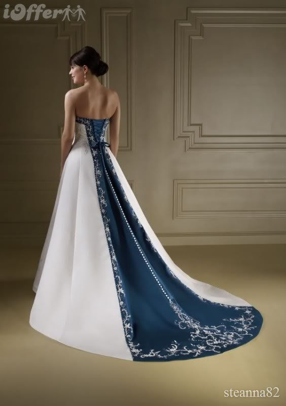 Navy Blue Wedding Dresses If I Could Find These In Red This Would Be