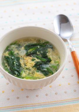 ほうれん草 卵 スープ ほうれん草と卵、栄養満点の組み合わせ。美味しく食べるレシピ集