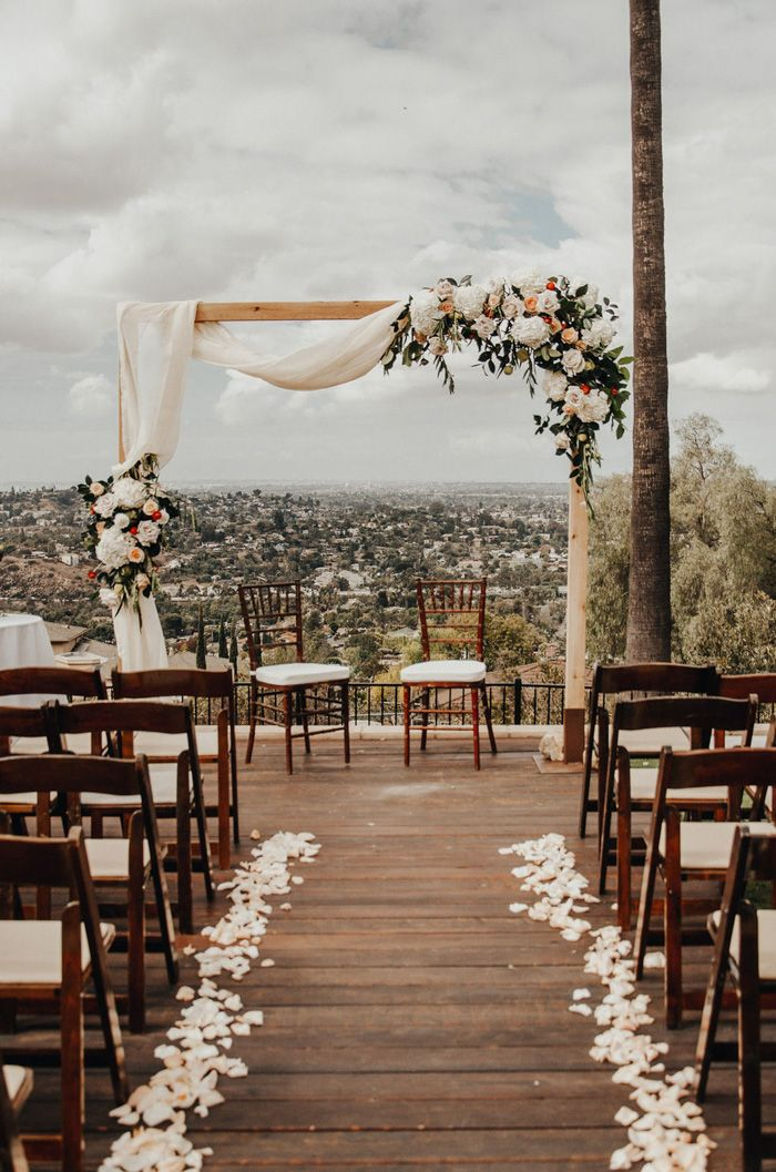 This Stunning San Diego Airbnb Mansion Wedding Proves You