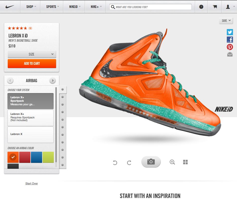 86c0e811aff3bc Nike iD - mass customization