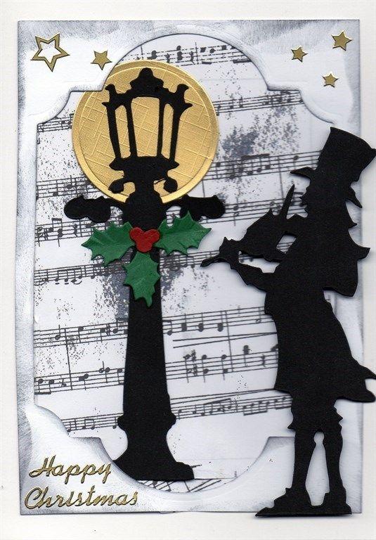 Tim Holtz Victorian Carol Singers Docrafts Com Die Cut Cards