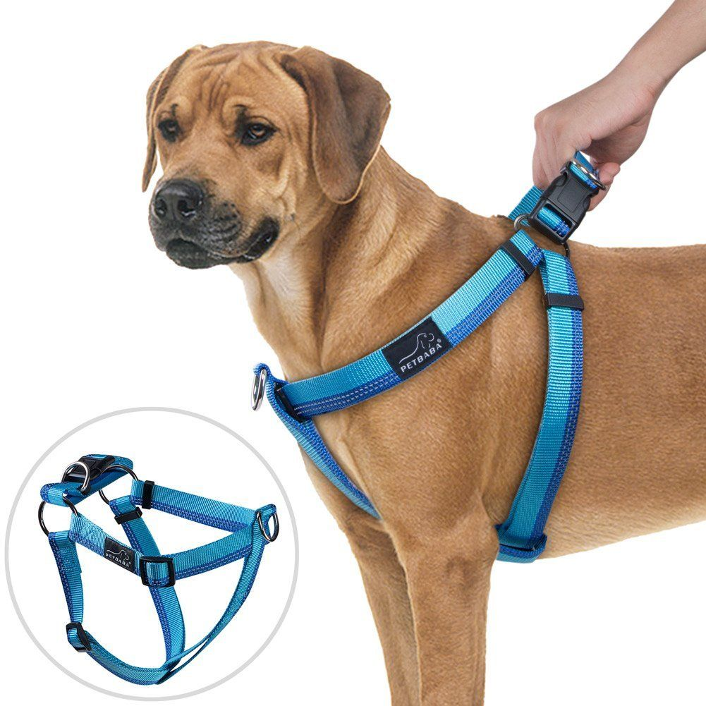No Pull Dog Harness Petbaba Reflective Front Clip Dog Harness