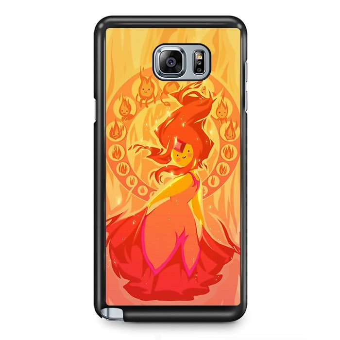 Adventure Time Characters Flame Princess CartoonPhonecase Cover Case For Samsung Galaxy Note 2 Samsung Galaxy Note 3 Samsung Galaxy Note 4 Samsung Galaxy Note 5 Samsung Galaxy Note Edge