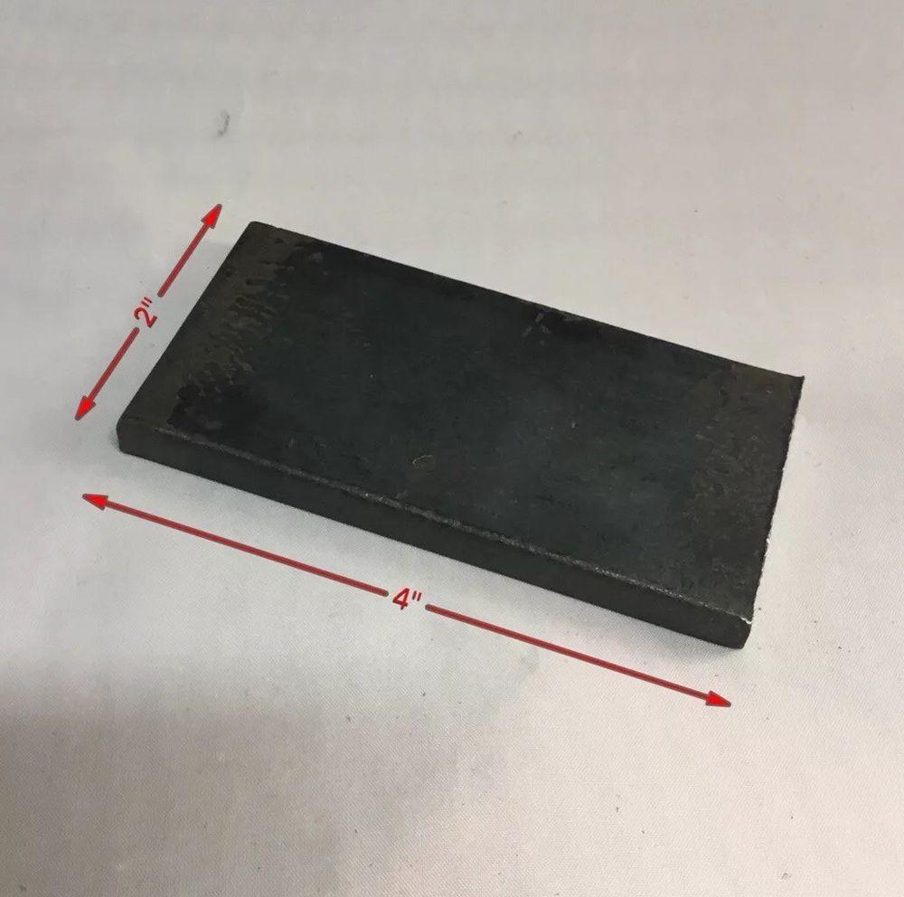 3 8 Flat Bar Steel Bracket Or Shim 2 X4 X 3 8 Thick Unbrandedgeneric Steel Ebay Bracket