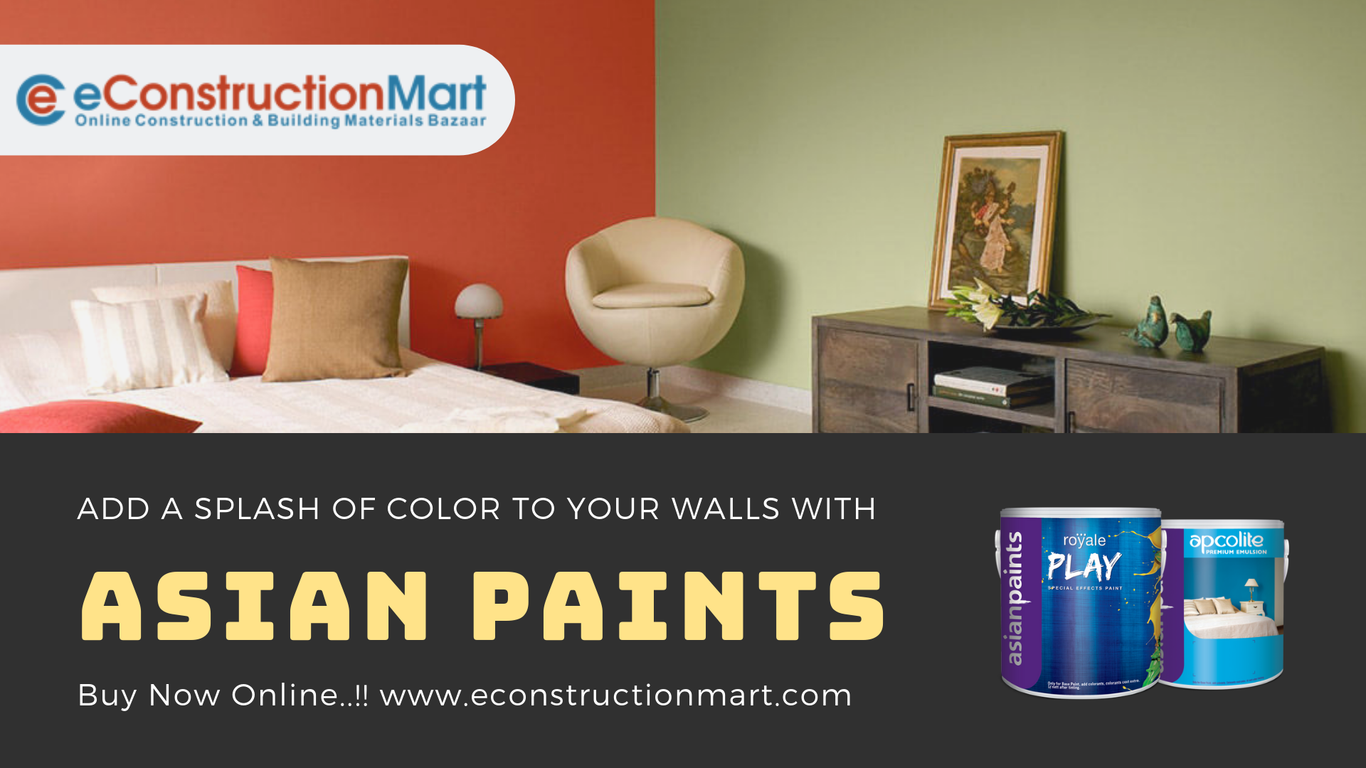 Add Color And Happiness To Your Living Spaces With Asian Paints Https Bit Ly 2xcwsrk Asianpaints Wallpaints Wallpaint Asian Paints Paint Prices Painting