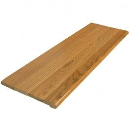 Best Replace Carpeted Stairs With Wood Treads Red Oak 640 x 480