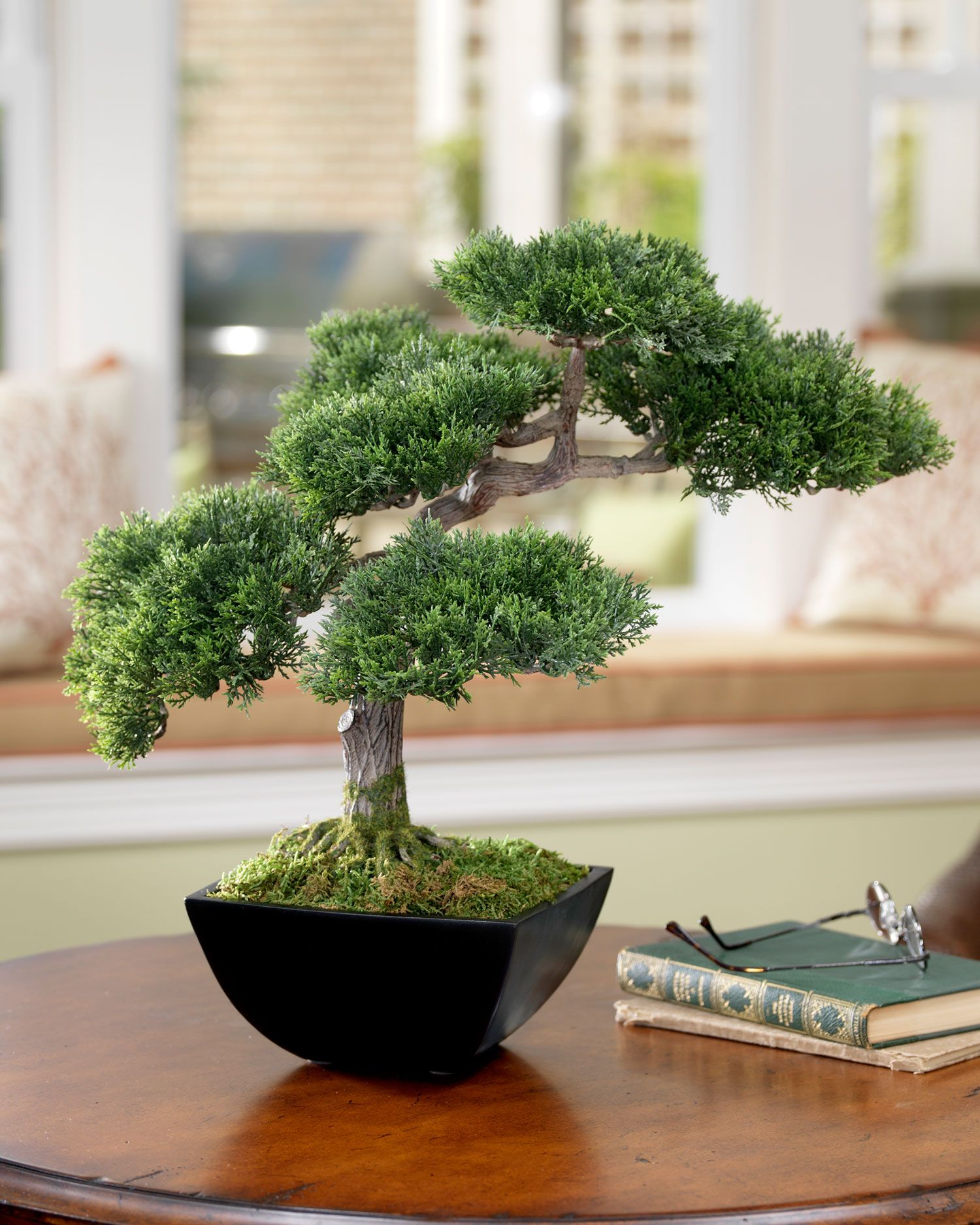Cypress bonsai artificial tree artcypress trees pinterest