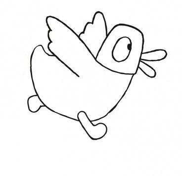 Colour in DUCK | Sarah & Duck | Make-and-colour | CBeebies ...
