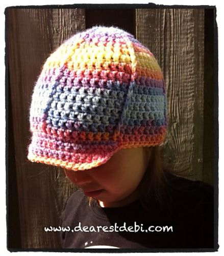 Toddler Ball Cap Pattern By Debi Dearest Ravelry Patterns And Crochet