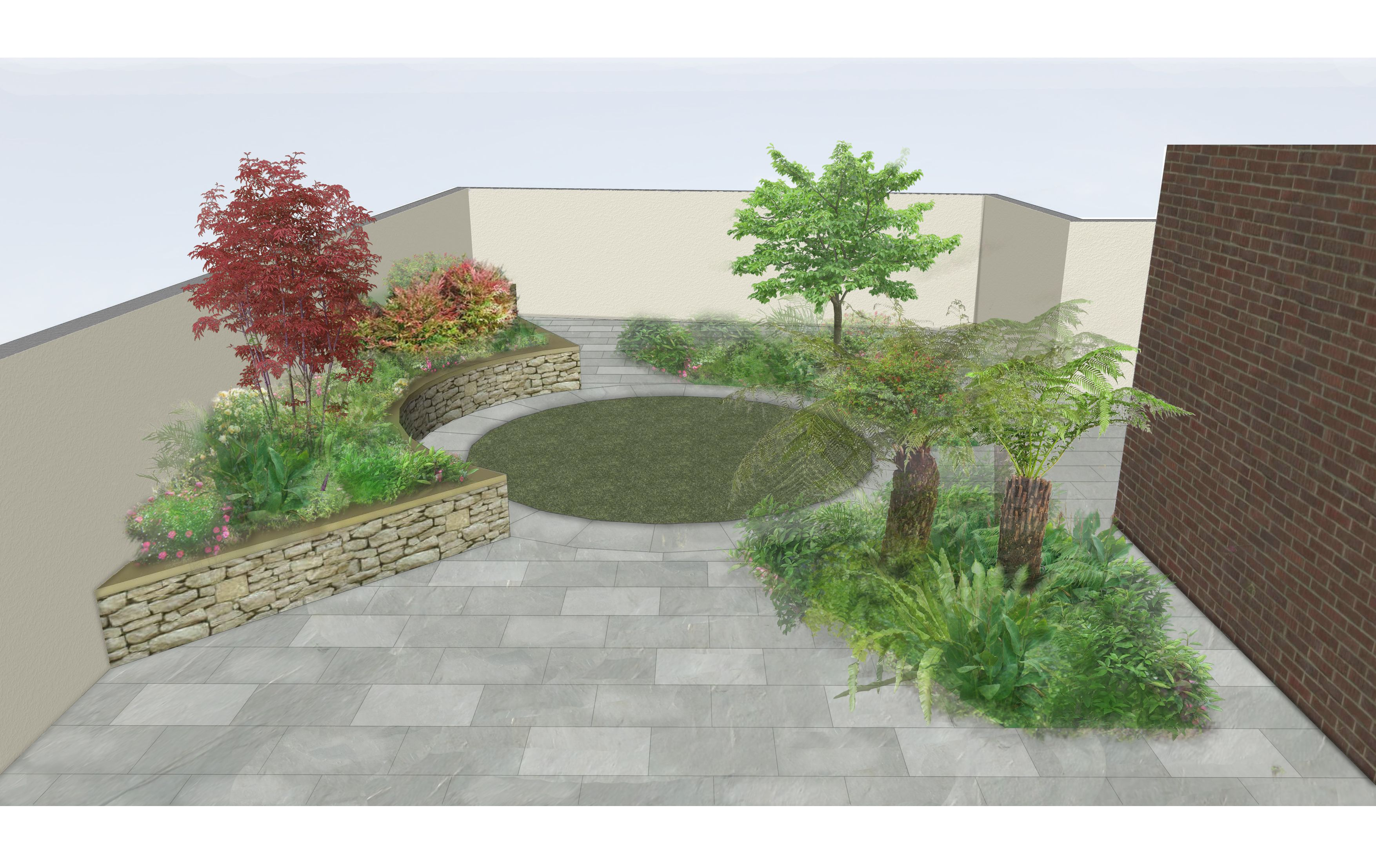 Garden Design For Familygarden In Ranelagh Www Owenchubblandscapers Com Dublin Ireland We Design We Patio Ideas Ireland Garden Design Landscape Design