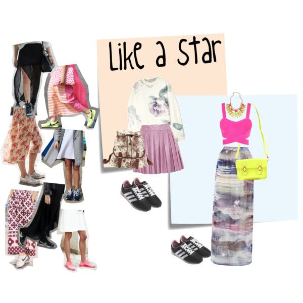 """""""Like a star"""" by annet-oh on Polyvore"""