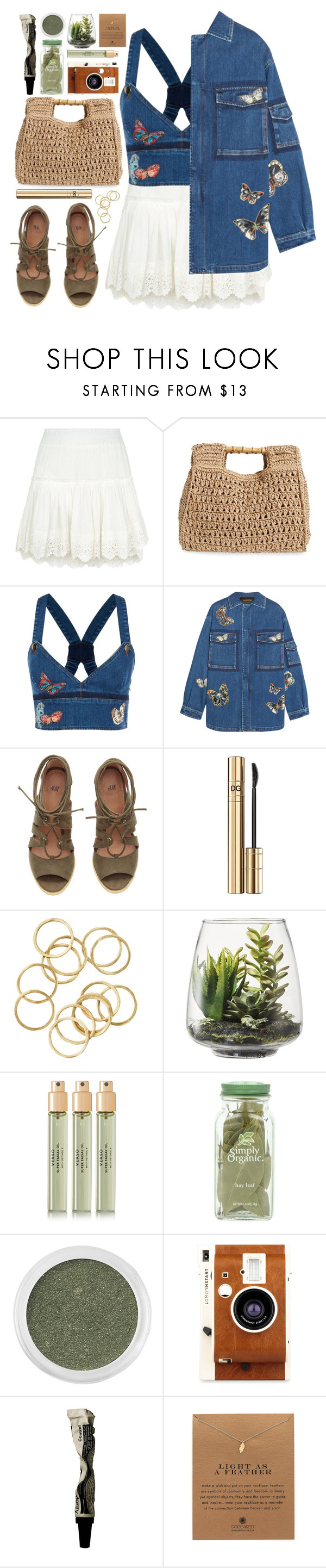 """#959 Petunia"" by blueberrylexie ❤ liked on Polyvore featuring Misa, San Diego Hat Co., Valentino, D&G, Threshold, Verso, Bare Escentuals, LØMO, Aesop and Dogeared"
