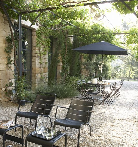 Terrasses, Tonnelle, Lierre, Mas des Songes, South of France, Provence