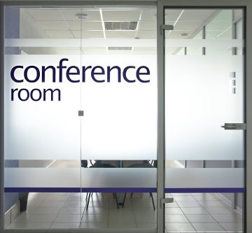 Glass Door And Window Into Conference Room Glass Office Doors Glass Office Meeting Room Design
