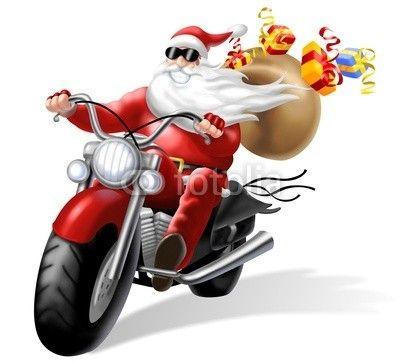 NOEL-PERE NOEL-BABBO-MOTO   Very merry christmas, Mario characters, Harley  davidson