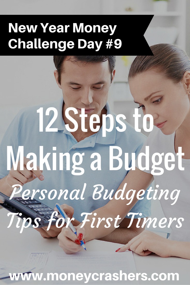 12 Steps For How To Make A Budget Personal Budgeting Tips For First Timers Financial
