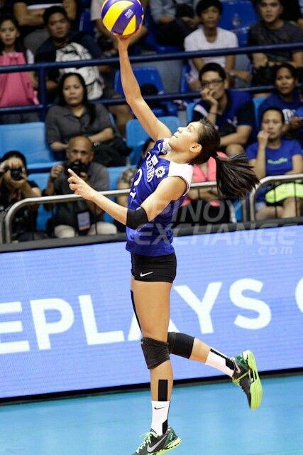 My Favorite Volleyball Player Alyssa Valdez Alyssa Valdez Volleyball Players Women Volleyball