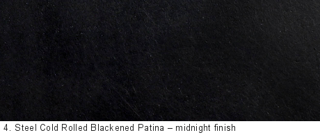 Steel Cold Rolled Blackened Patina Cold Rolled Steel Patina