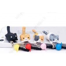 Kissa pölysuoja 3.5 mm, eri värivaihtoehtoja