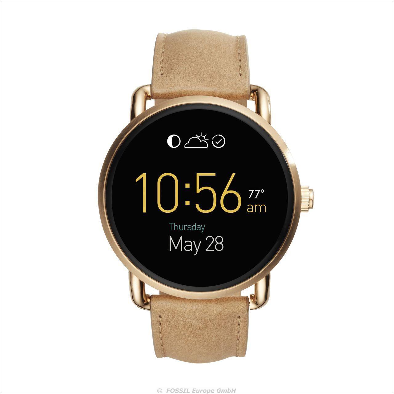 Fossil kündigt die Vorstellung der zweiten Generation neuer, schlankerer Android-Wear™-Smartwatches, Aktivitätstracker und smarter Analoguhren an