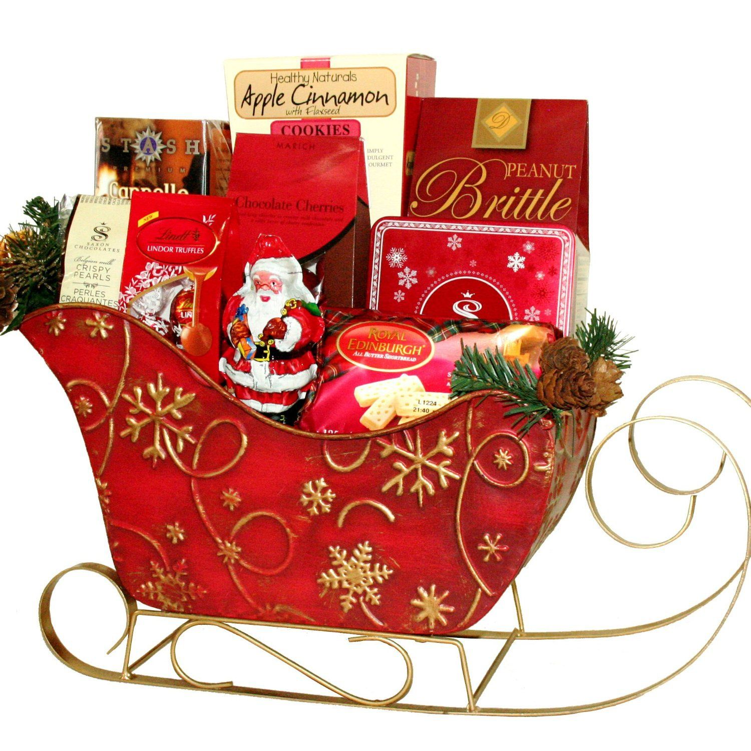 Christmas Hampers 2019.The 9 Best Client Gifts Of 2019 Sleigh Painted Gift