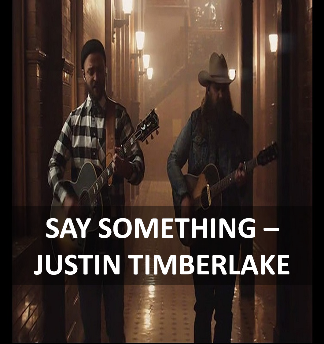 Say Something Guitar Chords Lyrics By Justin Timberlake