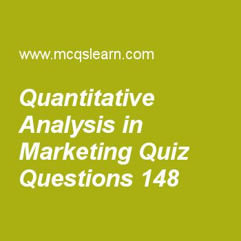 Learn Quiz On Quantitative Analysis In Marketing Cost Accounting