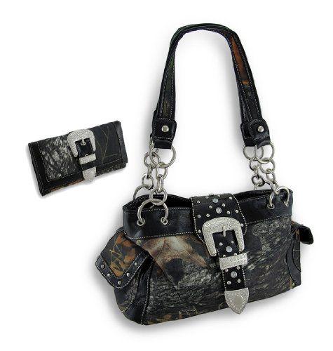 Camouflage Rhinestone Western Buckle Purse/Wallet Set (Black) Things2Die4 http://www.amazon.com/dp/B00CZCU9K2/ref=cm_sw_r_pi_dp_JhgTtb1J6MKHETJE