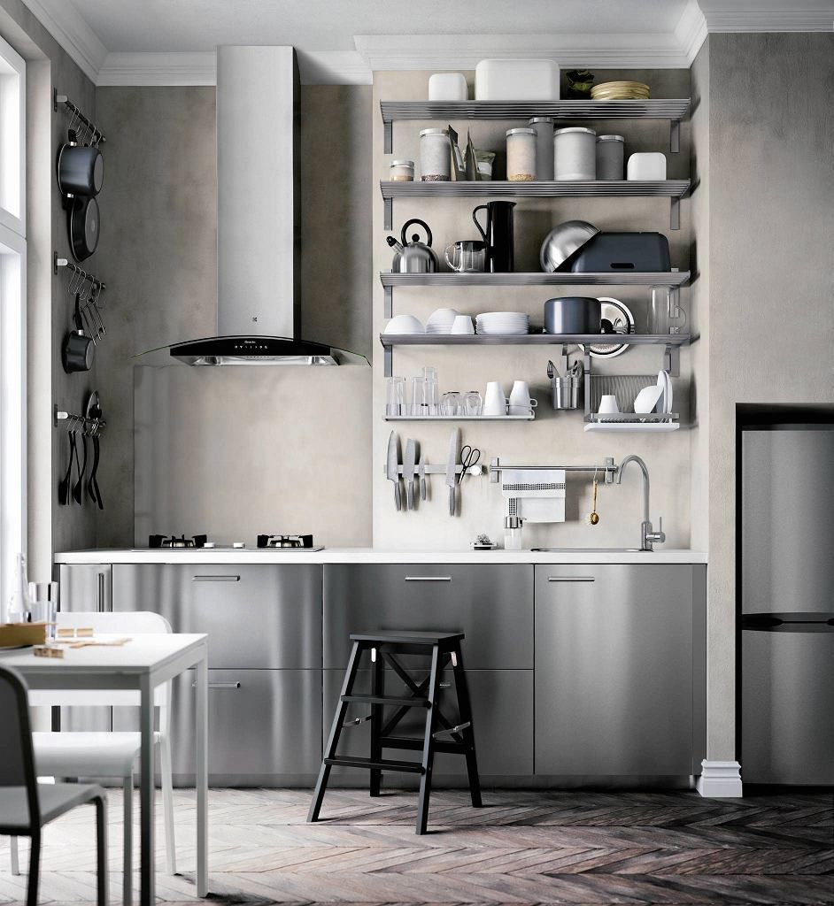 Ikea.de Küchenplaner Login Otwarte Półki Zastępują Szafki Zamykane Drzwiczkami. | Kitchen Organization Diy, Kitchen Design Trends, Home Decor