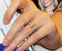 Ivanka Trumps wedding ring Bridal Inspiration Pinterest