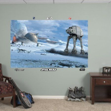 Fathead Star Wars AT-AT Battle Mural, Multicolor