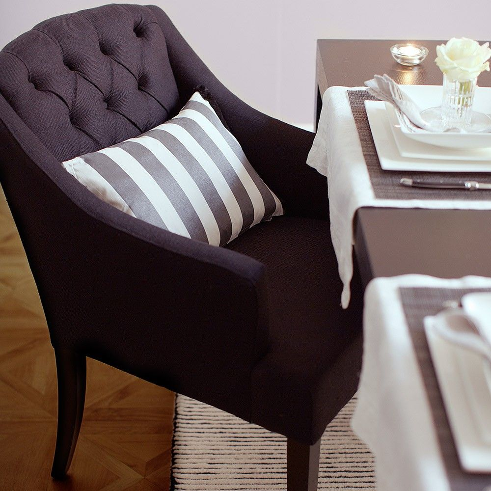 Eichholtz Lancaster Dining Chair With Arms Black The Eichholtz