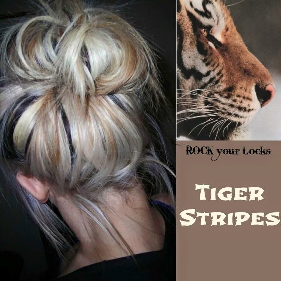 Tiger stripes hairstyles pinterest tiger stripes fine hair