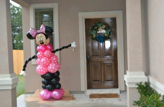 Minnie Mouse para recibir