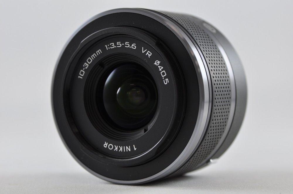 [Exc⁺⁺] Nikon 1 NIKKOR 10-30mm F3.5-5.6 VR Black Lens For Nikon 1-Mount #Nikon