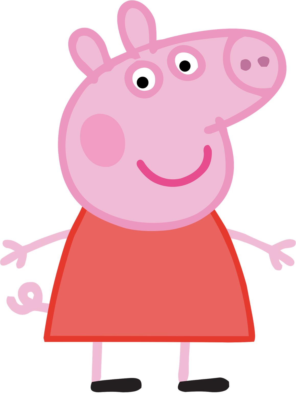 Cartoon Characters Peppa Pig Png Hq Peppa Pig Painting