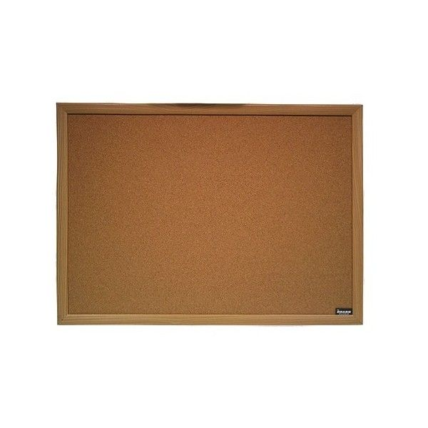 b4f3131a6d8 Ubrands Wood Frame Cork Board (70 NOK) ❤ liked on Polyvore featuring home