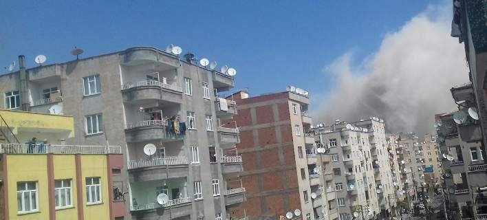 Τουρκία: Ισχυρή έκρηξη από ατύχημα με τουλάχιστον 4 τραυματίες στο Ντιγιάρμπακιρ [εικόνες & βίντεο]
