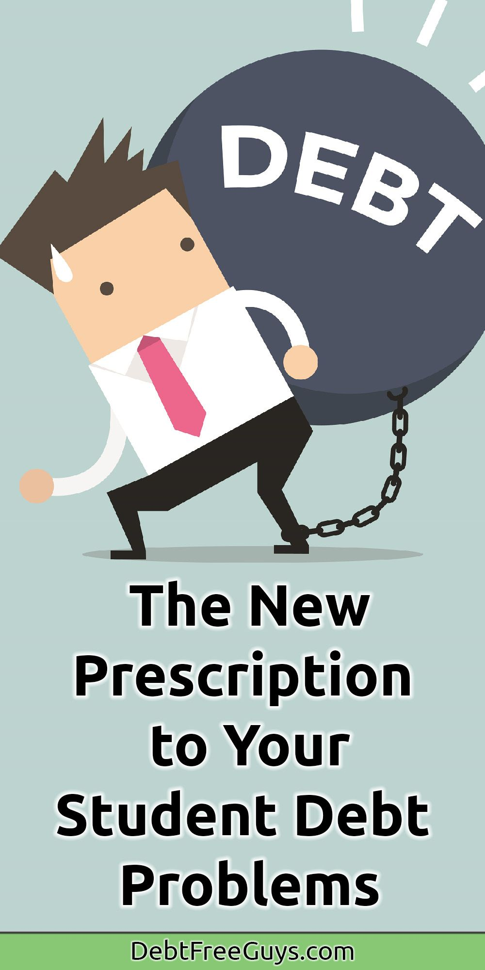 Get Your Prescription For Your Student Loan Ills From This Doc Debt Relief Programs Debt Relief Debt Relief Companies