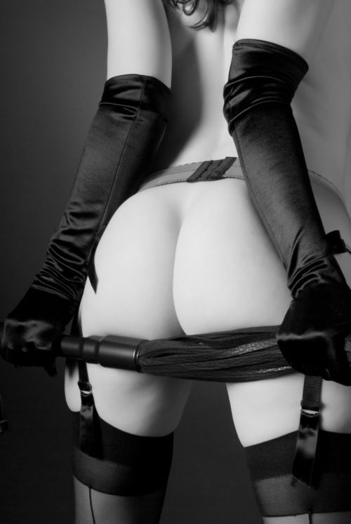 Domme Holding Flogger In Thigh Highs Nsfw Relevant Pinterest