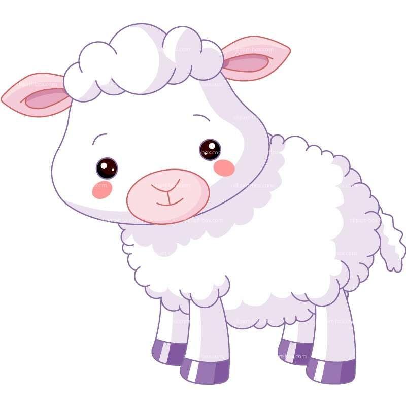 Clipart Cute Lamb Royalty Free Vector Design Sheep Cartoon Cute Lamb Farm Cartoon