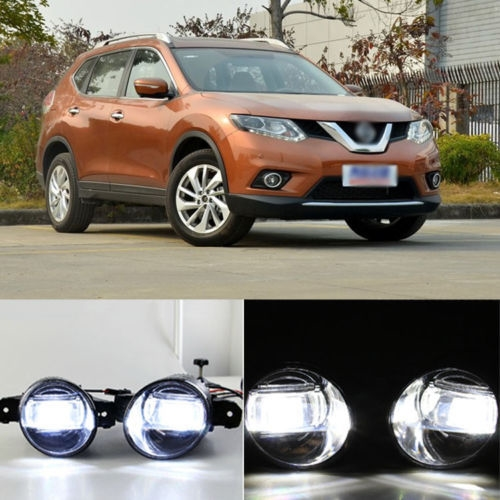 180.49$  Buy now - http://alibkl.worldwells.pw/go.php?t=2043006359 - Superb LED Daytime Running Light DRL Bars+Q5 Lens Foglight For Nissan X-Trail 2010-2013