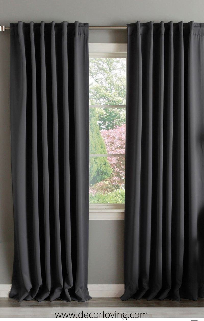 Blackout Curtains Ideas For Bedroom Decor Dark Curtains Li