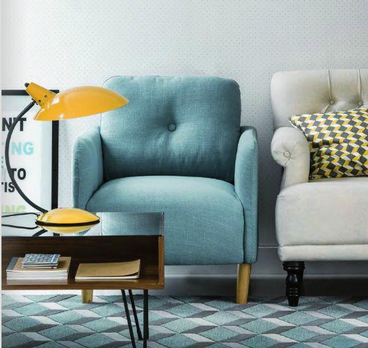 design et confortable on craque pour le fauteuil scandinave jimi il trouvera facilement sa. Black Bedroom Furniture Sets. Home Design Ideas