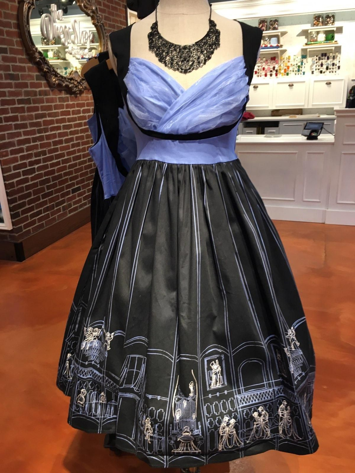 new her universe haunted mansion dress at the dress shop