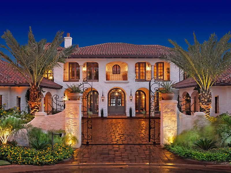 Hacienda homes related post from spanish hacienda house for Spanish colonial home designs
