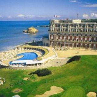 Biarritz Basque Country Hotel Du Palais South West Of France Where I Worked With